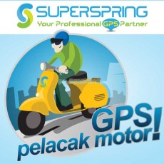 GPS Tracker Motor VT–100M dari SuperSpring
